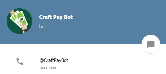 craft bot telegram