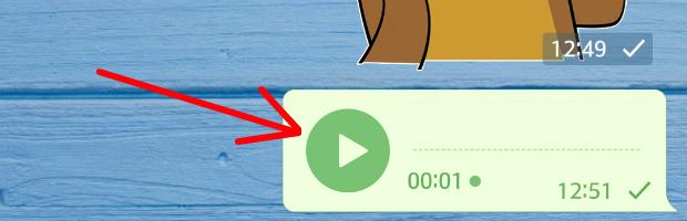 как отправить голосовое сообщение