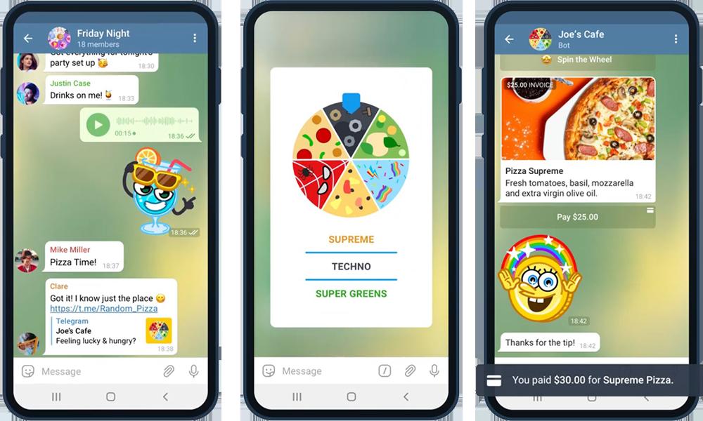 Платежи 2.0. Нововведения в Telegram